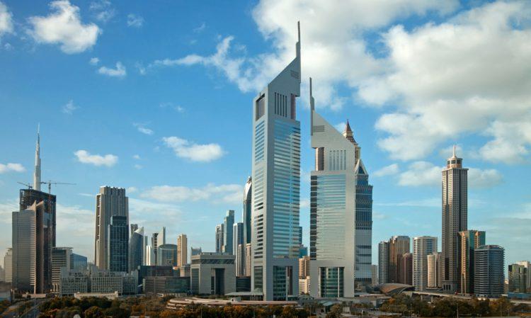 Эмиратские башни - достопримечательности Дубая
