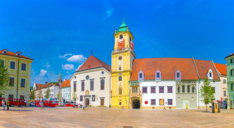 Старая ратуша - достопримечательности Братиславы