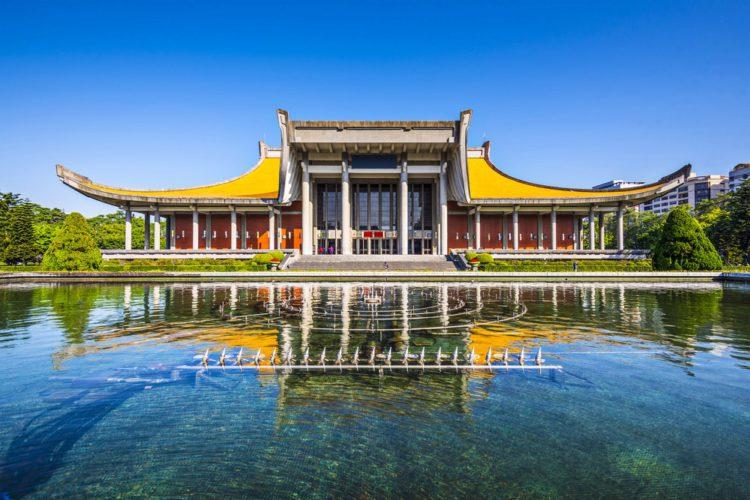 Мемориальный зал Сунь Ят-сена - достопримечательности Тайваня