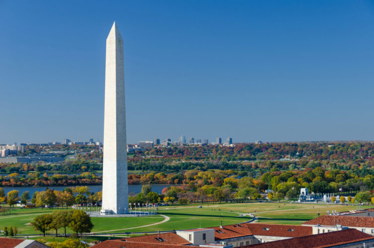 Монумент Вашингтона - достопримечательности Вашингтона