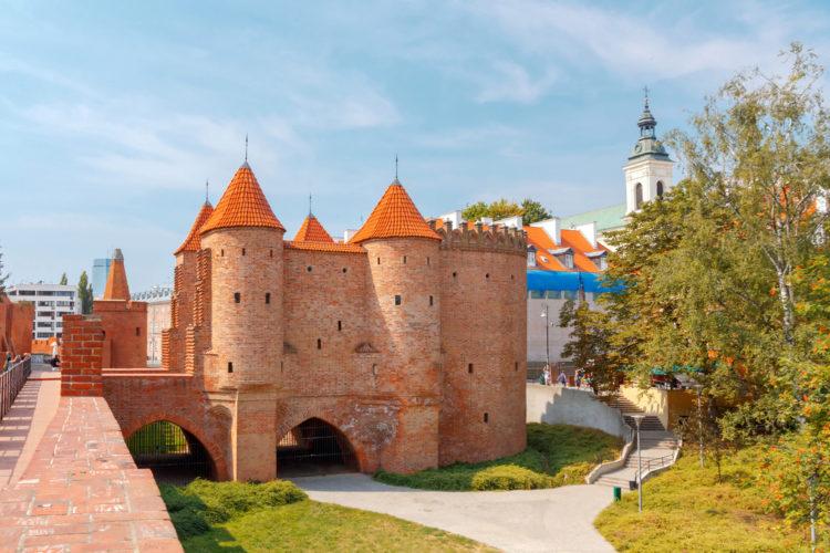 Варшавский Барбакан - достопримечательности Варшавы