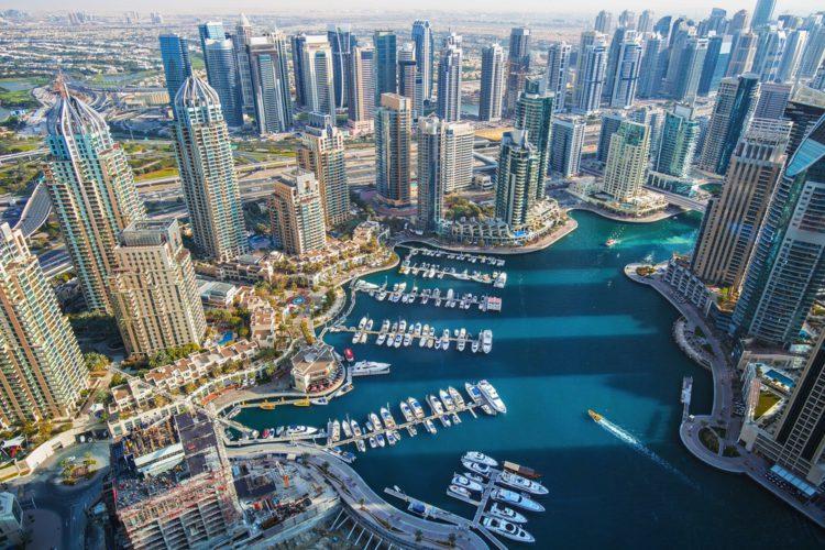 Дубай-Марина - достопримечательности Дубая