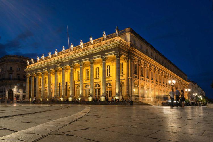Большой театр - достопримечательности Бордо