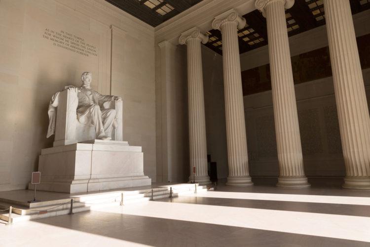 Мемориал Линкольна - достопримечательности Вашингтона