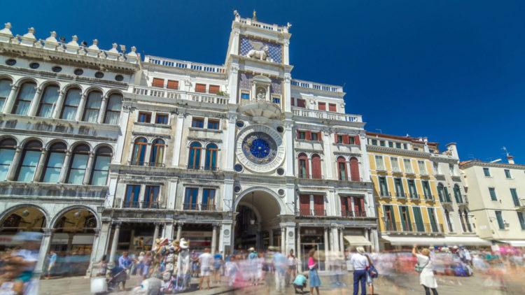 Часовая башня Святого Марка - достопримечательности Венеции