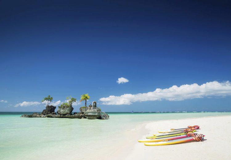 Белый пляж - достопримечательности Филиппин