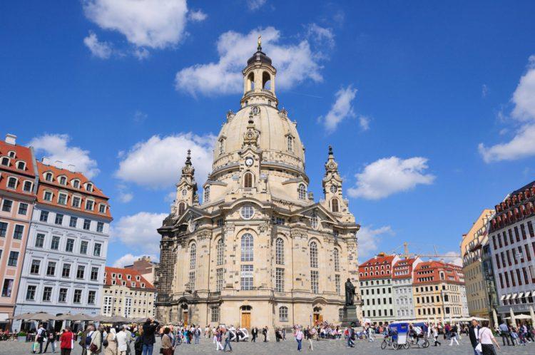 Фрауэнкирхе — церковь Богородицы - достопримечательности Дрездена