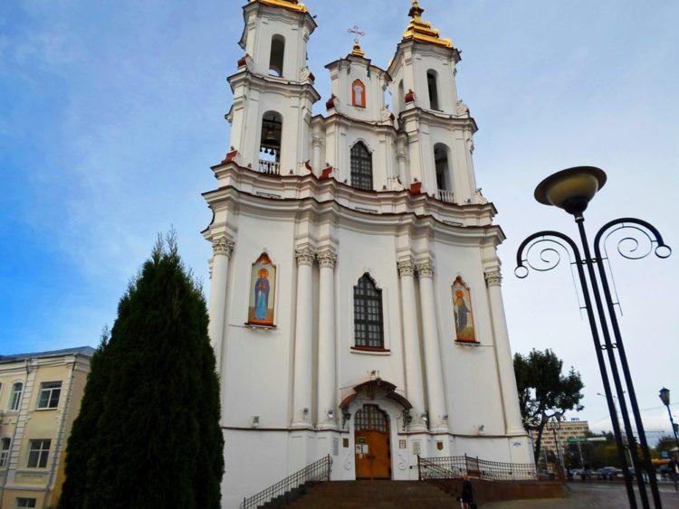 Воскресенская церковь - достопримечательности Витебска