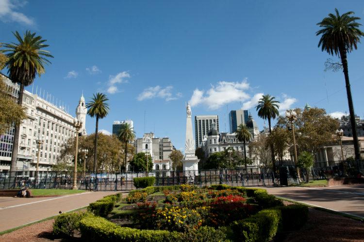 Площадь Мая - достопримечательности Буэнос-Айреса