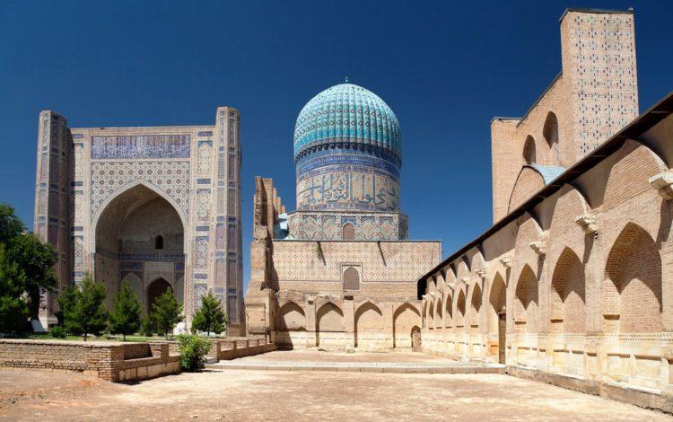 Мечеть Биби-Ханум в Самарканде - достопримечательности Узбекистана