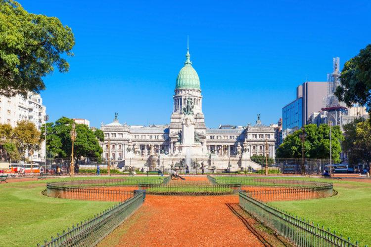 Дворец Национального конгресса Аргентины - достопримечательности Буэнос-Айреса