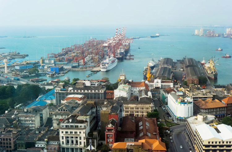 Порт Коломбо - достопримечательности Шри-Ланки