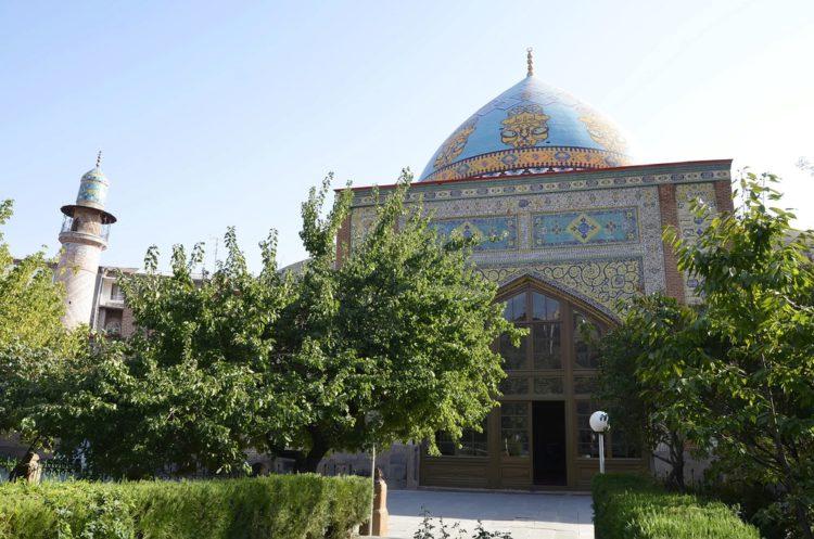 Голубая мечеть - достопримечательности Еревана