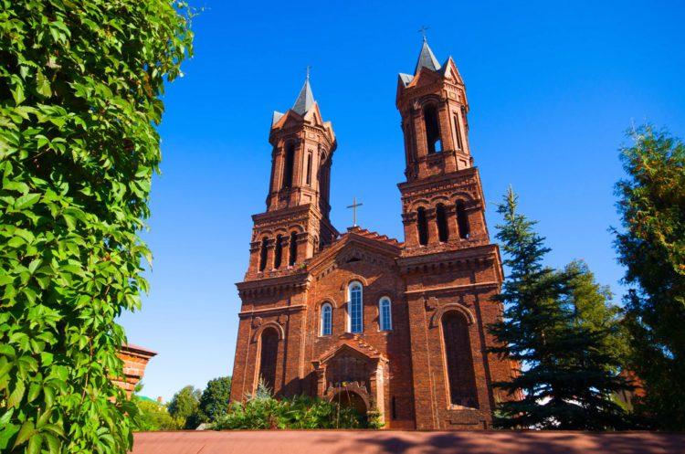 Костёл Святой Варвары - достопримечательности Витебска