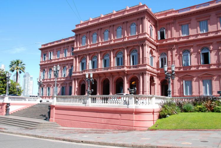 Дворец Каса Росада - достопримечательности Буэнос-Айреса