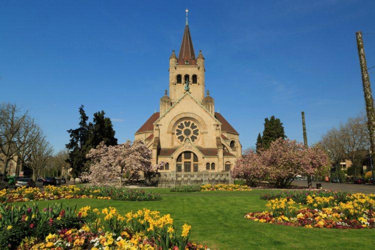 Церковь Святого Павла - достопримечательности Базеля