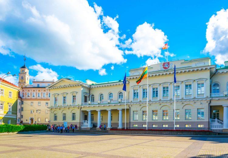 Президентский дворец - достопримечательности Вильнюса