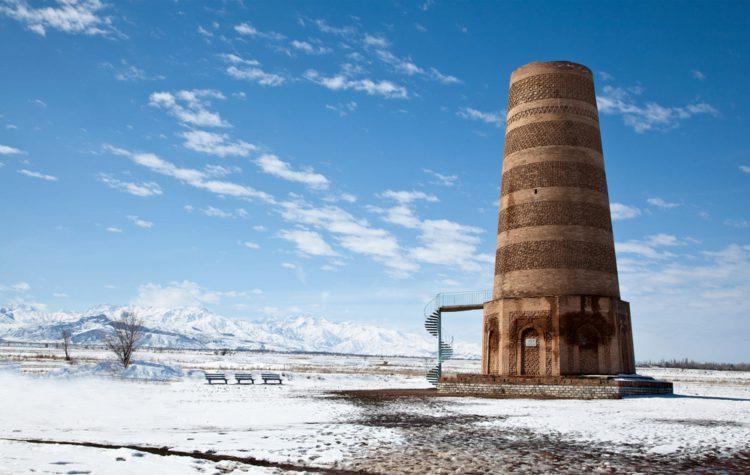 Башня Бурана - достопримечательности Киргизии