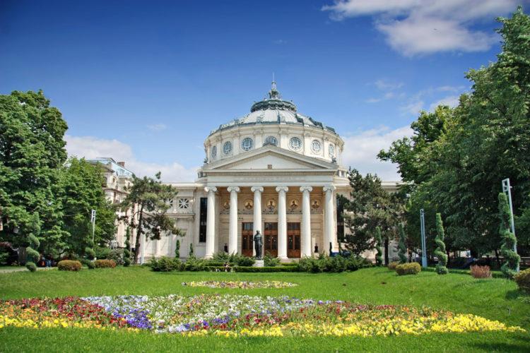 Румынский Атенеум - достопримечательности Бухареста