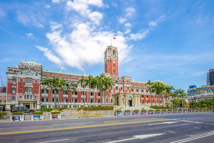 Президентский Дворец - достопримечательности Тайваня