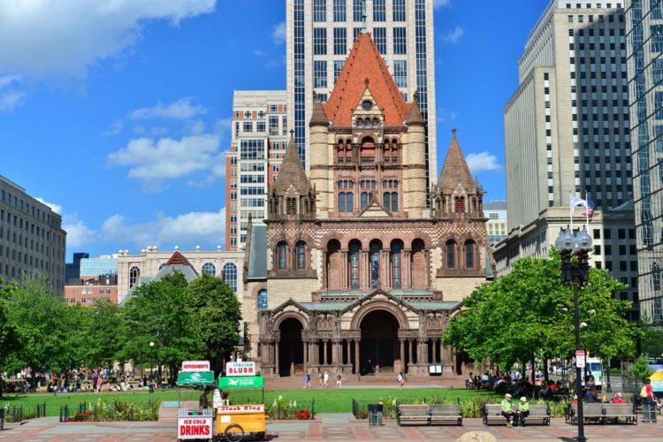 Церковь Троицы - достопримечательности Бостона