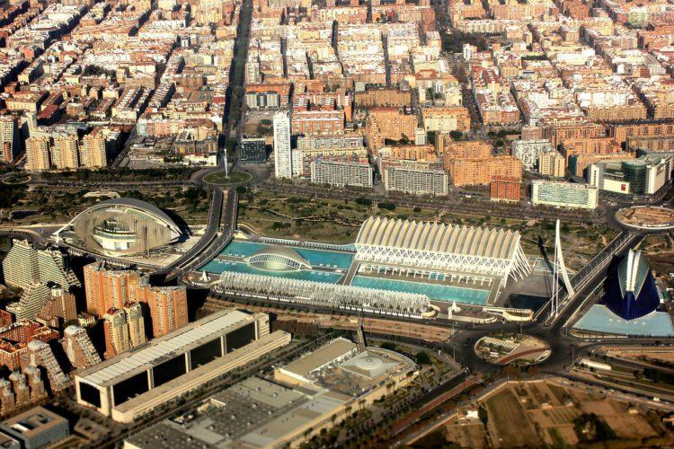 Городок науки и искусства в Валенсии - достопримечательности Валенсии