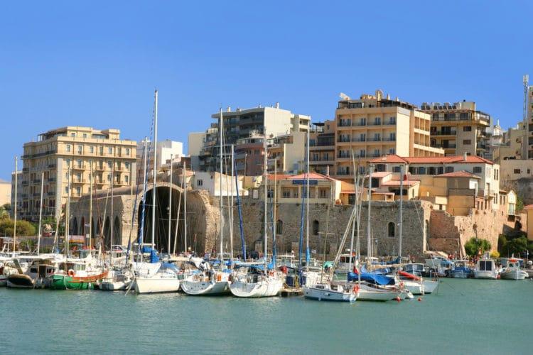 Город Ираклион - достопримечательности Крита