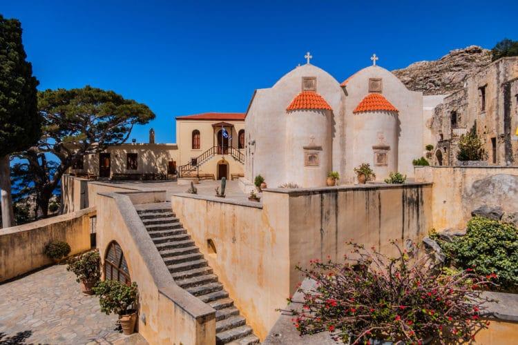 Монастырь Превели - достопримечательности Крита