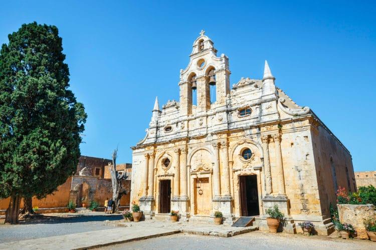 Монастырь Аркади - достопримечательности Крита