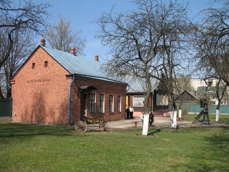 Дом-музей Марка Шагала - достопримечательности Витебска