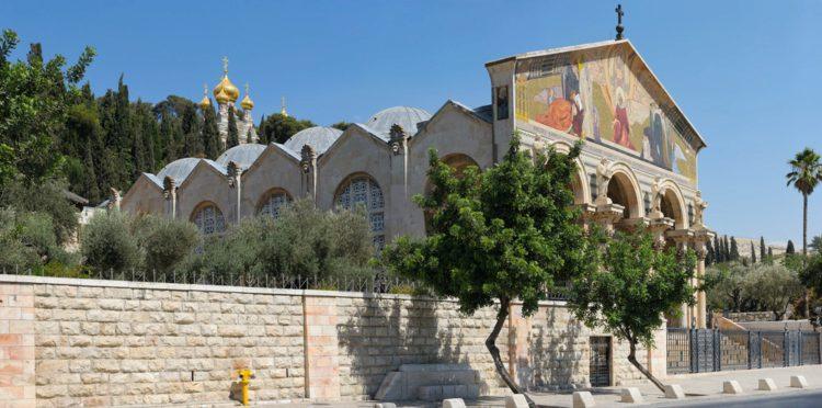 Церковь всех наций - достопримечательности Иерусалима
