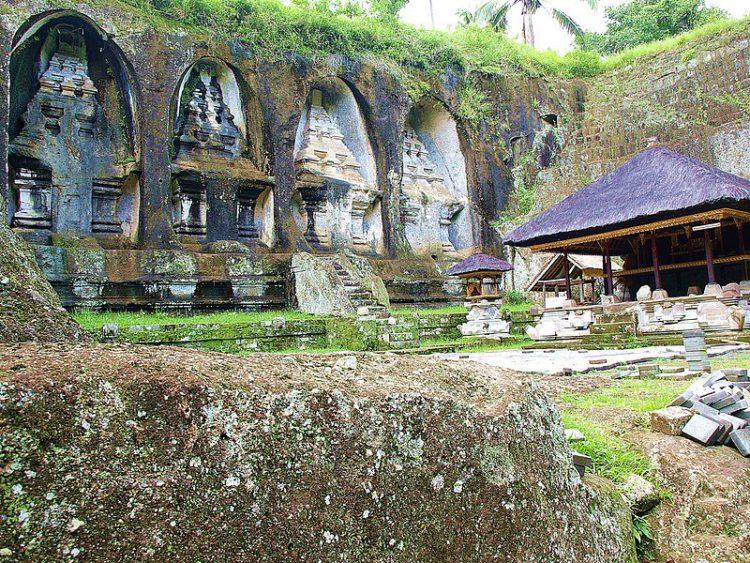 Храм Гунунг Кави - достопримечательности Бали