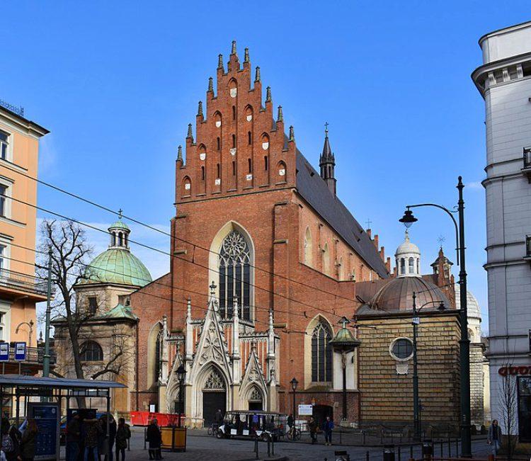 Базилика Святой Троицы - достопримечательности Кракова