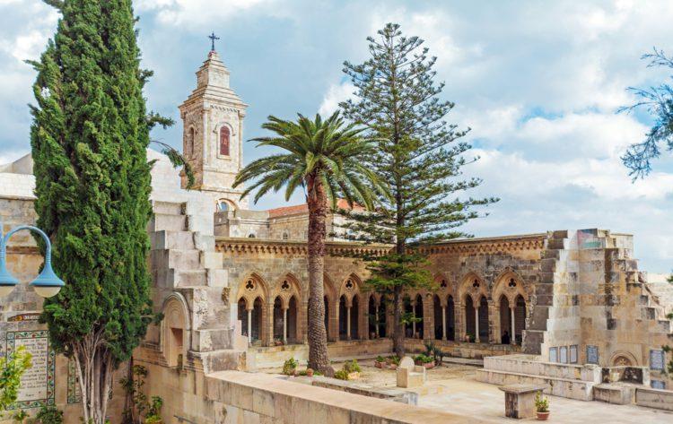 Церковь Отче наш - достопримечательности Иерусалима