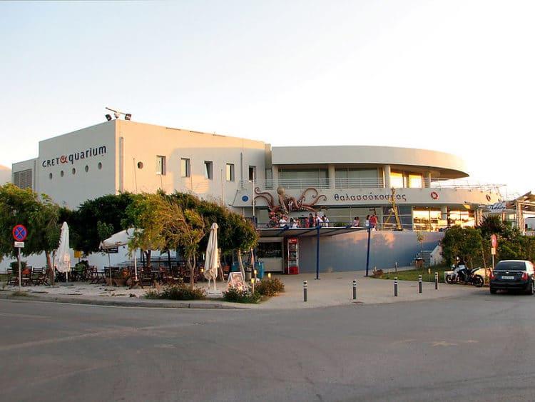 Аквариум Крита - достопримечательности Крита