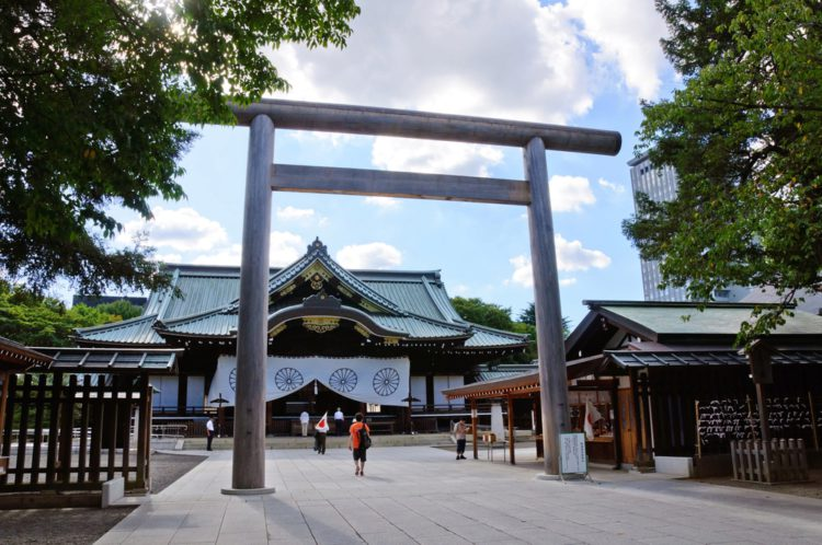 Храм Ясукуни - достопримечательности Токио
