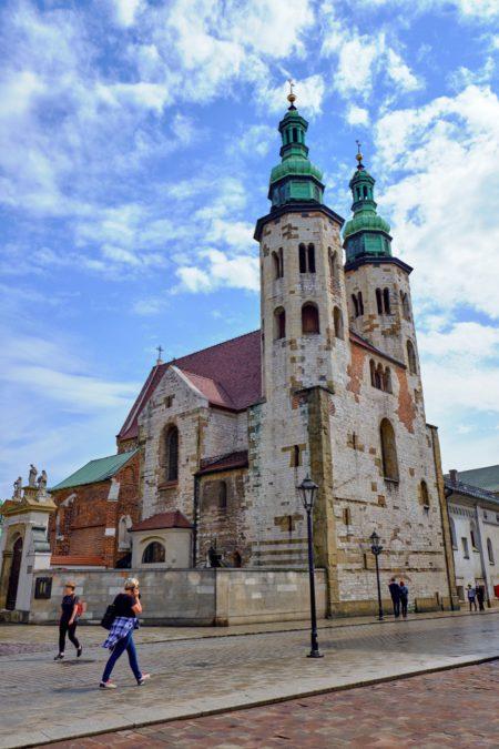 Костёл Святого Андрея - достопримечательности Кракова