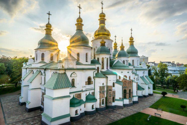 Софийский собор - достопримечательности Киева