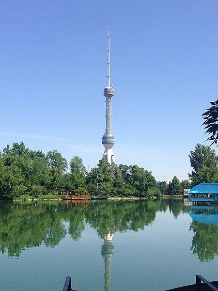 Ташкентская телебашня - достопримечательности Узбекистана