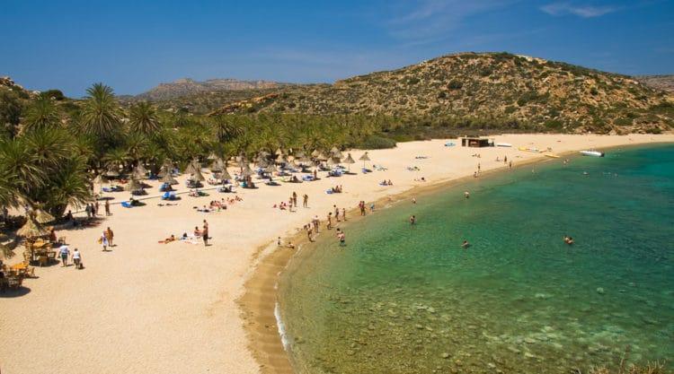 Пальмовый пляж Ваи - Что посмотреть на Крите