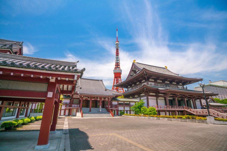 Храм Дзодзо-дзи - Что посмотреть в Токио