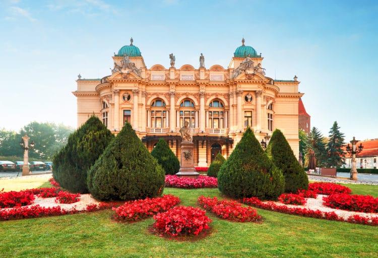 Театр имени Юлиуша Словацкого - достопримечательности Кракова