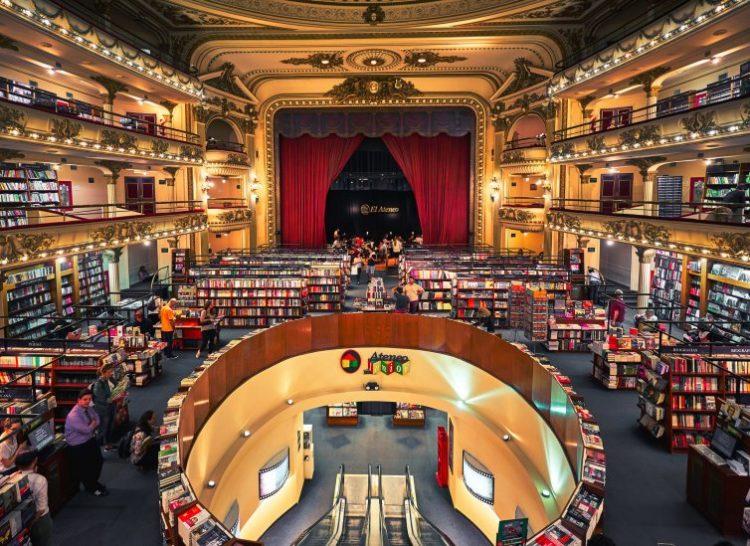 Книжный магазин «Эль Атенео Гранд Сплендид» - достопримечательности Буэнос-Айреса