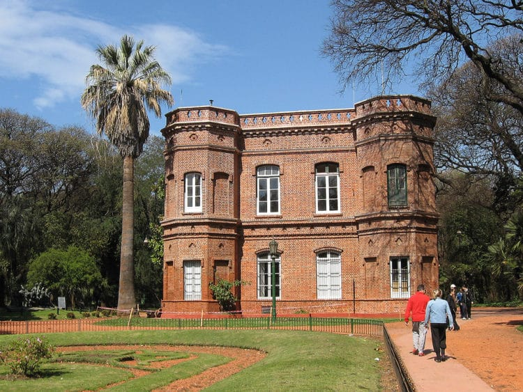 Ботанический сад Буэнос-Айреса - достопримечательности Буэно-Айреса