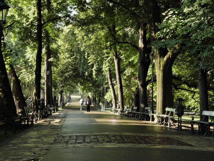 Краковские Планты - достопримечательности Кракова
