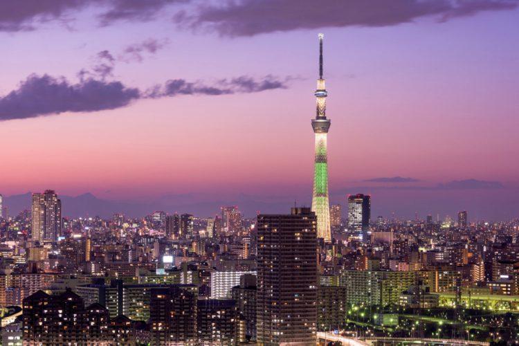 Смотровая площадка Tokyo Sky Tree - достопримечательности Токио