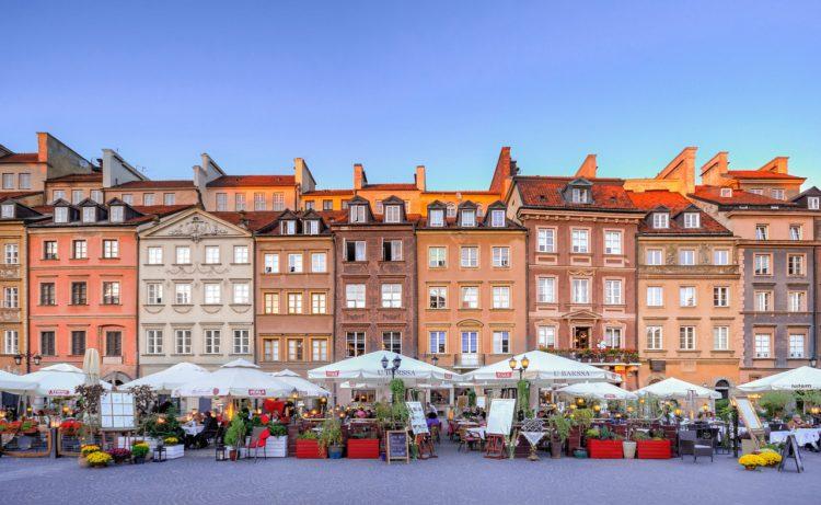 Рыночная площадь - достопримечательности Варшавы