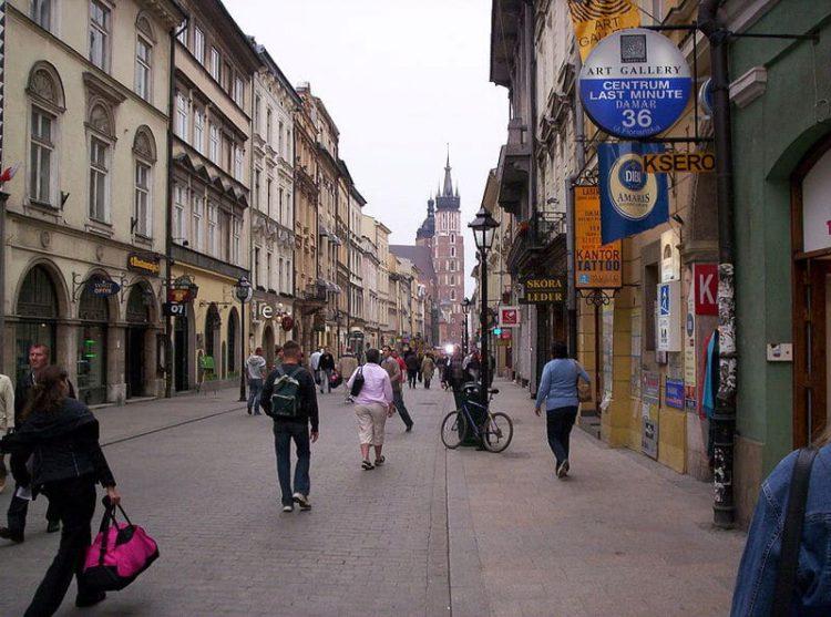 Флорианская улица - достопримечательности Кракова