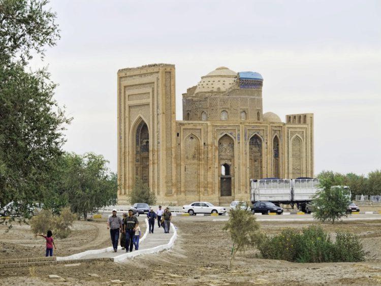 Куня-Ургенч - достопримечательности Туркмении