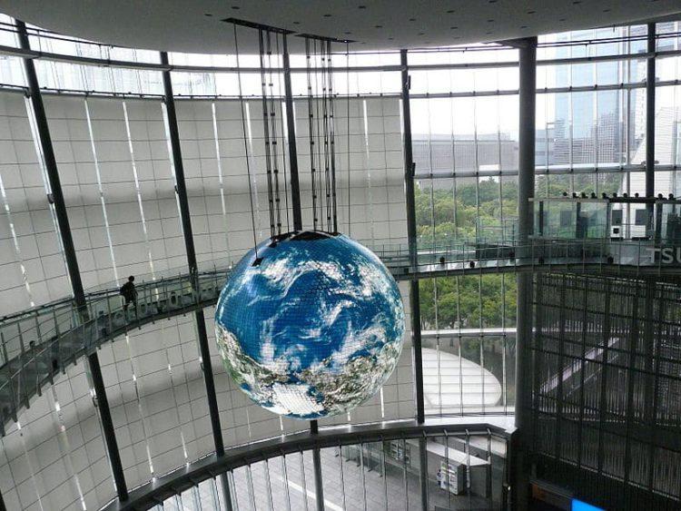 Музей Будущего - достопримечательности Токио